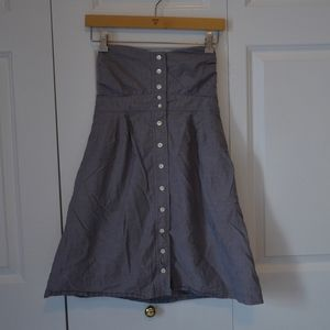 J. Crew Sweetheart Neck Sleeveless dress